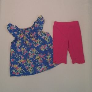 RALPH LAUREN 9 Months Baby Floral Outfit